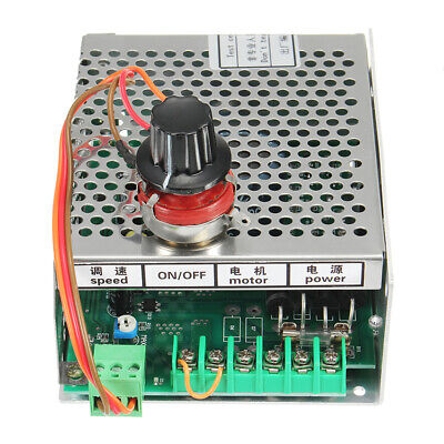 Power Supply Speed Governor For ER11 Chuck CNC 500W Spindle Motor AC 110-220V