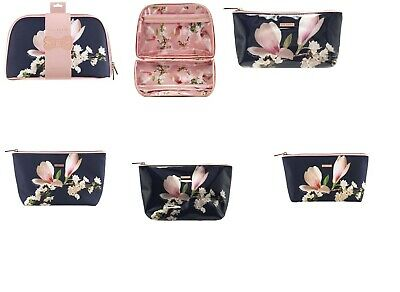 Ted Baker Make Up Wash Bag Cosmetic Travel Case Toiletry Bag Harmony Floral