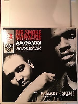 """BIG SMOKE 12"""" Format MAGAZINE ISSUE 3 FEAT. FALLACY & SKEME Near Mint Condition"""