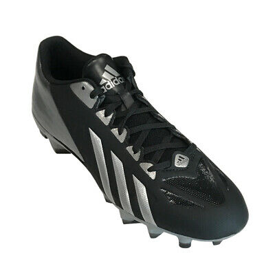 Adidas FilthyQuick Men's Low Football Cleats – Black/Platinum/White - G67025