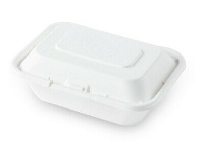 Eco Friendly Natural Fiber Food Container Togo Box with 50ct 600ml 001