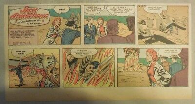 Jack Armstrong The All American Boy by Bob Schoenke 1/9/1949 Third Size Page !