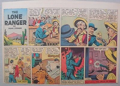 Lone Ranger Sunday Page by Fran Striker and Charles Flanders from 5/11/1941