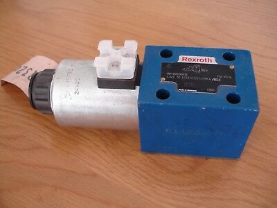 Bosch Rexroth Directional Valve 4WE 10 D33/CG24N9K4/B12 £99 FREE Postage