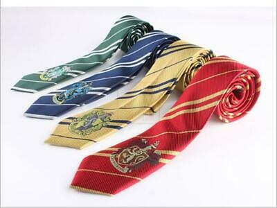 Cosplay Harry Potter Gryffondor Cravate Serpentard Ravenclaw Hufflepucci