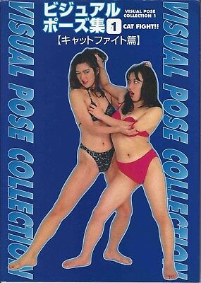 Visual Pose Collection 1 Catfight-hen Japan Book 2000