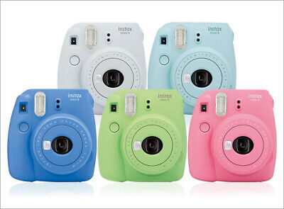 Fujifilm Instax Mini 9 Instant Film Camera - Choose your color