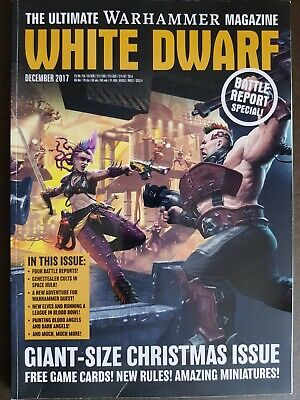 White Dwarf December 2017 Games Workshop Warhammer Magazine VGC