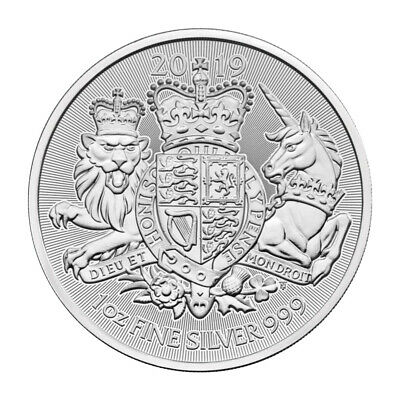 1 oz 2019 The Royal Arms Silver Coin