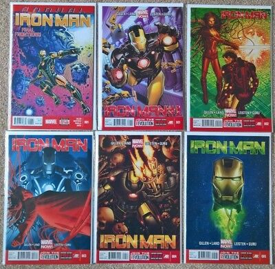 2012 Marvel Iron Man 1 - 28 + Annual complete set 30 issues