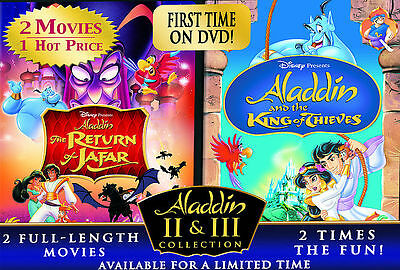 Aladdin II & III Collection DVD, ,