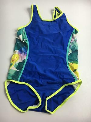 Girls Next Blue & Multi Colour Swimming Costume Age 13 Years Swimsuit