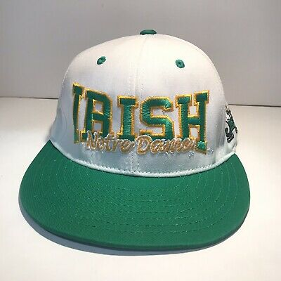 7f039e0b8b62e EMBROIDERED NOTRE DAME HAT-ONE FIT-TOP OF THE WORLD, NCCA Rare ...