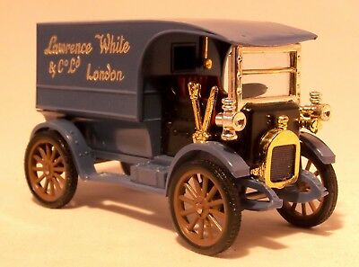 Vintage 1911 Austin Minialuxe 28 Model Delivery Van - 1/43 Scale 60s Collectible