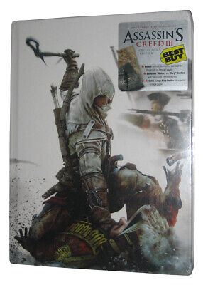 Assassin's Creed III Collector's Strategy Guide Hardcover Book (Best Buy Exclus