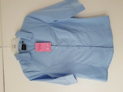 New With Tag  Debenhams  Back to  School  Girls 3/4 Sleeve Blouse  Age  10