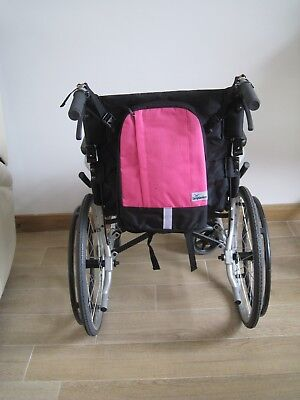 Pink Wheelchair bag
