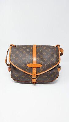 356f79dfb2 LOUIS VUITTON Borsa Saumur 30 Monogram Canvas Bag Shoulderbag Viaggio Unisex