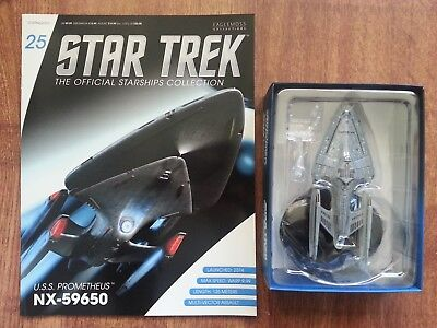 Star Trek USS Prometheus Voyager Eaglemoss Starships Collection Issue 25 Model