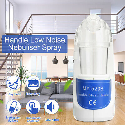 Hospital/Home Nebulizer Portable Compressor Asthma Medicine Inhaler Neb Kit