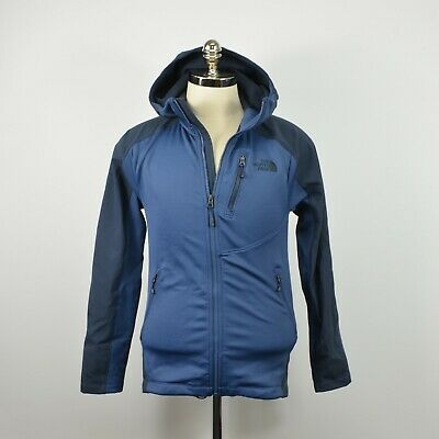 1144005e4 THE NORTH FACE Flyweight Hoodie Blue Multi Color Mens Size Small New ...