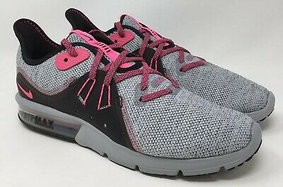 d19f8bbe92 Nike Womens Running Shoes Air Max Sequent 3 Athletic Style 908993-015 Size 8