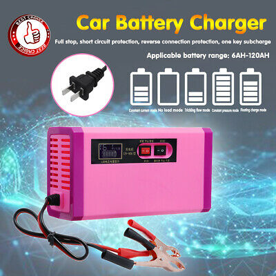220V Car Jump Start Starter Battery Charger Power Booster Rescue Pack 2000mA