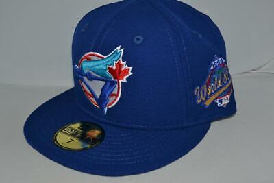 quality design 51140 2ae9f New Era Toronto Blue Jays 1993 World Series Mlb Fitted Cap Hat 59Fifty  Brand New