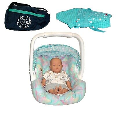 Realityworks Baby Think It Over G5C Caucasian Male w/Car Seat, Clothing, & Bag