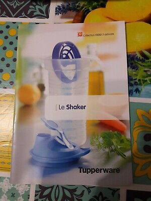livret Collection 1000 & 1 astuces Tupperware -  Le Shaker - Neuf