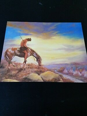End of the Trail Picture Print in Lithograph by Dealer