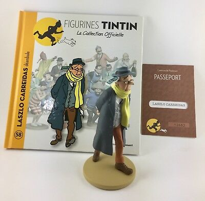 Official Collection Figurine Tintin Moulinsart 07 Tintin in Snowsuit Moonwalker