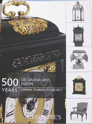 CHRISTIE'S 500 Years: Decorative Arts Europe – Vulliamy Tompion Gillows
