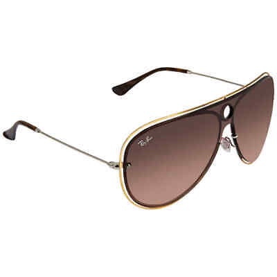 13dc608503 Ray Ban Brown Gradient Aviator Sunglasses RB3605N 90961332 RB3605N 90961332