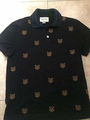 4fe81c075 AUTHENTIC GUCCI TIGER Print Polo 2018 - $199.00 | PicClick