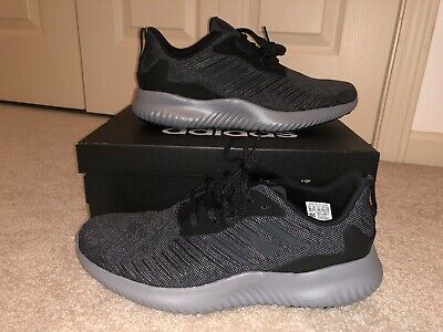 43c5ee7ab6d59 adidas Performance Alphabounce RC M Mens 10 M Running Shoes Black And Grey