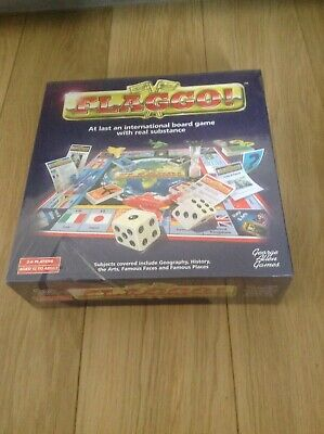 Brand New FLAGGO! International Board Game Ages 12+ Family Trivia Quiz Game