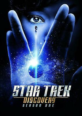 Star Trek Discovery: The Complete First Season 1(DVD, 2018, 4-Disc Set)