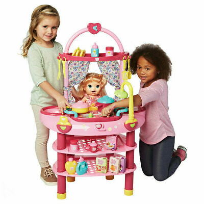 Baby Alive Cook'n Care Set 3 in 1 - 28 Piece Set 3+ Years Children Play Set