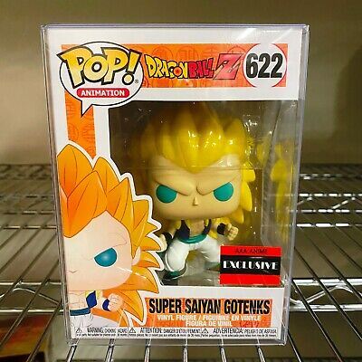"Funko Pop Dragon Ball Z Super Saiyan 3 Gotenks #622 AAA Anime ""MINT"" IN STOCK"