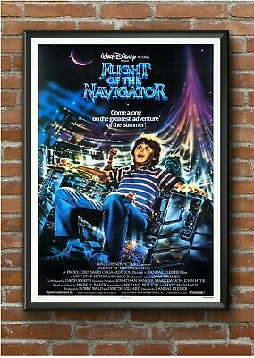 Flight of the Navigator Classic 1980's Movie Film Poster Print Picture A3 A4 A5