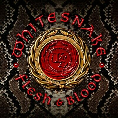 New Whitesnake Flesh & Blood First Limited Edition CD DVD Japan GQCS-90701
