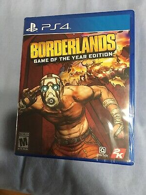 Borderlands: Game of the Year Edition PS4 2019 4K Physical Edition + 4 DLC USA