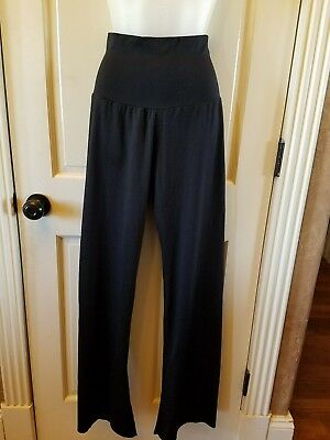 NWT Motionwear Gaucho Pants W// Hologram Dance Screenprint Black XLA