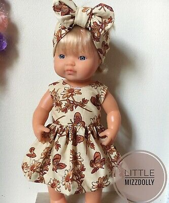 Miniland Doll Clothes Dress& Headband ~New Design~