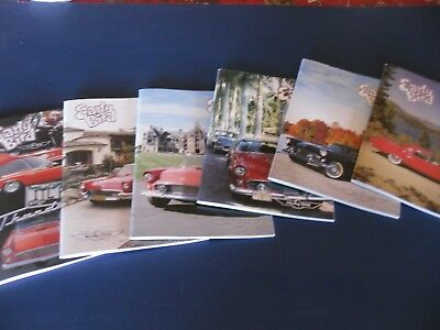 Full set of 6 issues of EARLY BIRD Magazine for Vintage T-Bird Owners - 2008!