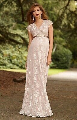 6dbb0c297ce NWT TIFFANY ROSE maternity Eden dress 2 S M gown -  198.00