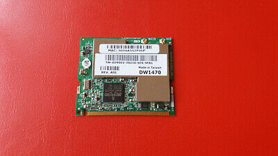 Dell Broadcom BCM94318MPAGH (DW1470) 802.11abg Mini PCI WiFi Card