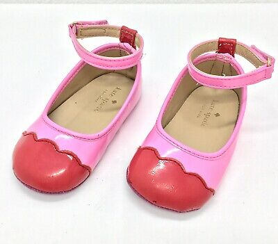 50447966bc11 Kate Spade New York Baby Girl Pink   Red Anklestrap shoes size 4 (9