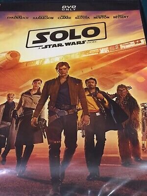 Solo A Star Wars Story DVD New & Factory Sealed